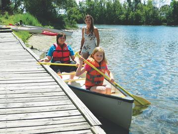 Accessibility Planning Renovation underway on Acton's Fairy Lake dock